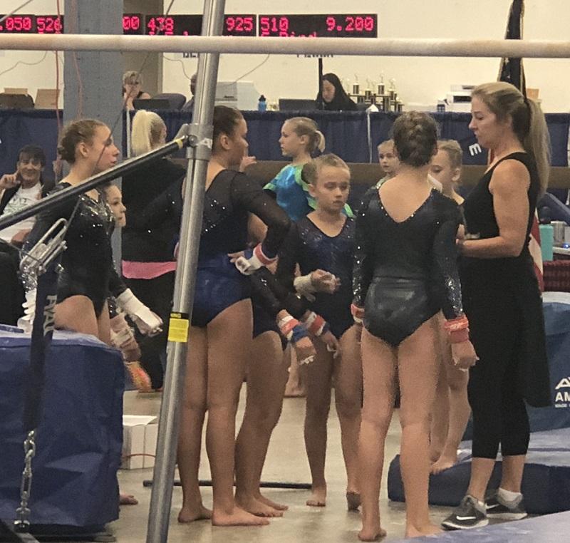 UV Gymnastics' Harvest Invitational A Success